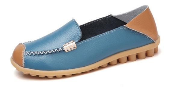 Mulheres Flats Sapatos Aconchegantes Sapatos De Ervilha Resp