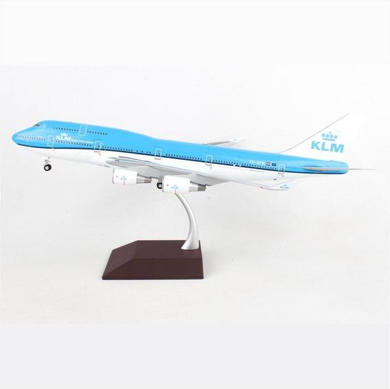 Miniatura Avião Klm Cargo 747-400 1:200 Gemini
