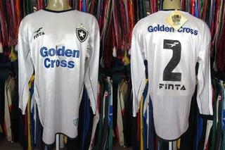 Botafogo 2002 Terceira Camisa Tamanho G Mangas Longas # 2.