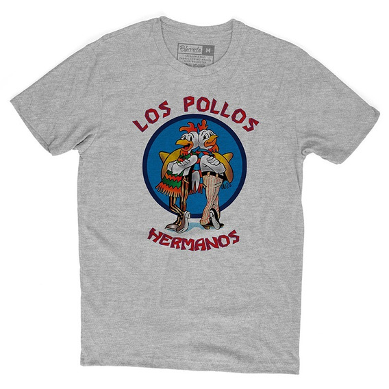 Camiseta Camisa Séries Breaking Bad Los Pollos Hermanos