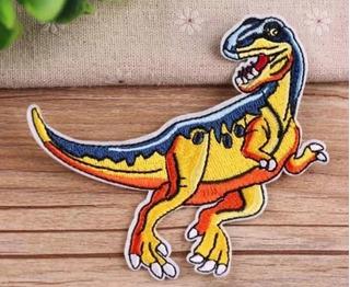 Parches Bordados Dinosaurios Para Tela Ropa Varios Modelos