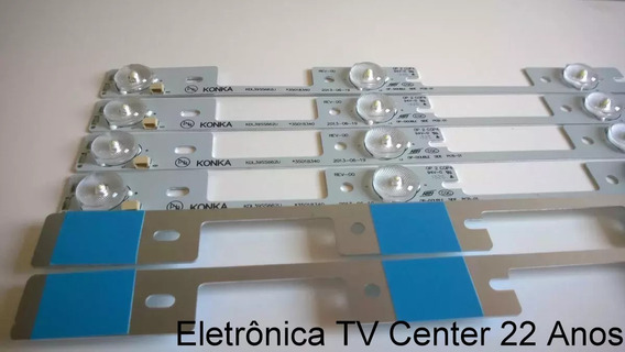 Kit C/6 Barra De Led Toshiba 40l2400 Dl3944 Em Alumínio +nfe