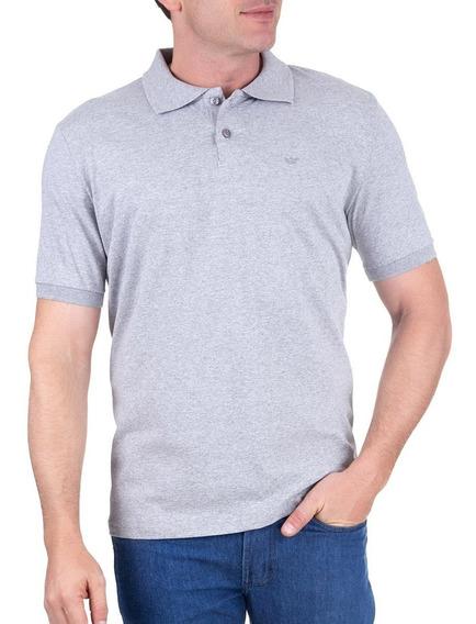 Camisa Polo Manga Curta Cinza 49331 Colombo