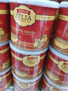 Goiabada Cascão Zélia De Ponta Nova Minas Gerais 800 Gr
