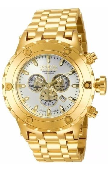 Relógio Invicta Reserve 14508 - Ouro - Original - Novo