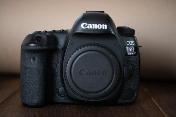 Camera Canon 5d Mark Iv Com 166mil Cliques, Sem Marcas