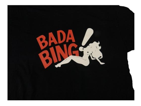 Remera %100 Algodon Los Sopranos Bada Bing