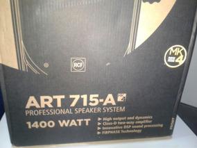 Caixa De Som Rcf Art715-a Mk4 Nova/lacrada