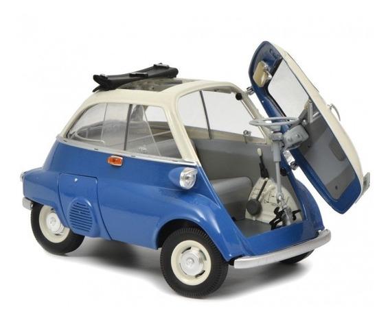 Miniatura Romiseta Iso Isetta Azul Schuco 1/18