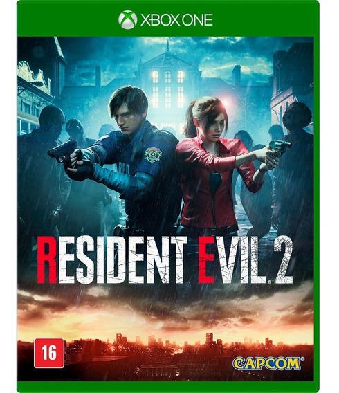 Resident Evil 2 Xbox One Mídia Física Lacrado Nacional - Rj