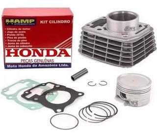 Kit Cilindro Titan Fan Bros 150 Original Honda Hamp