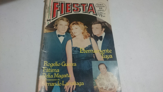 Fotonovela Fiesta #295 10 De Sep 1980 Póster Lucha Villa