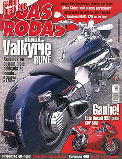 2r.344 Mai04- Honda Valkyrie Yama Drag Star Max125 Burg400