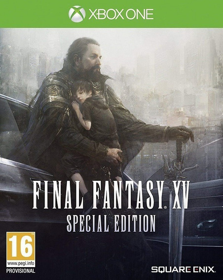 Final Fantasy Xv 15 Xbox One Mídia Física Novo Case De Metal