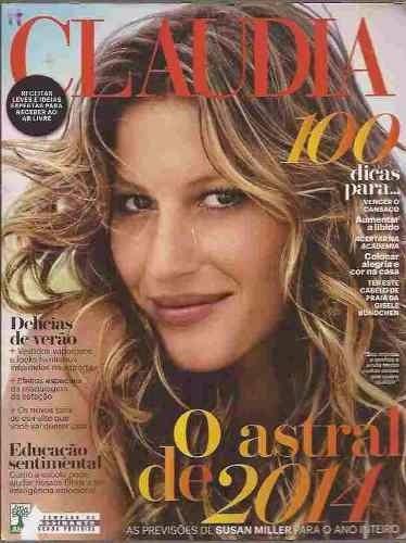 Revista Claudia Jan/2014 - Gisele Bundchen - Montagner
