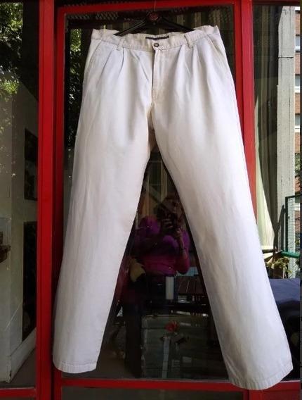 Kevingston -pantalon De Hombre En Gabardina Beige - T.46 -