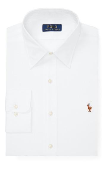 Camisa Social Polo Ralph Lauren Tamanho Ggg Xxl Classic Fit