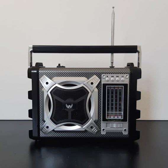 Rádio Retrô Altomex J1077 Fm / Am / Sw / Usb Com 5w