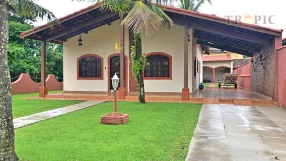 Casa Com 2 Dormitórios À Venda Por R$ 600.000,00 - Morada Praia - Bertioga/sp - Ca0375