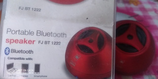 Parlante Bluetooth Portable Fj Bt 1222 Compatible Con Pc Cel