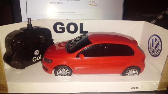 Miniatura Do Volkswagen Gol Escala 1/18 Controle Remoto