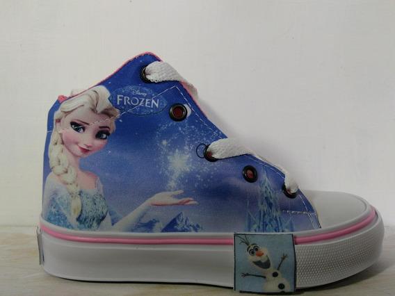 Botitas Personajes Sublimadas Super Calidad Frozen Elsa