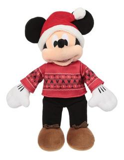 Peluche Disney Collection Mickey Mouse Navidad