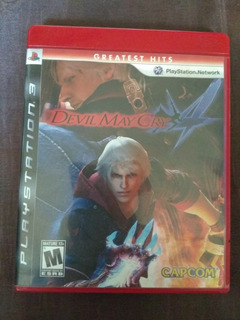 Devil May Cry 4 Playstation 3 Fisico Tomo Juegos. Mp Y Me