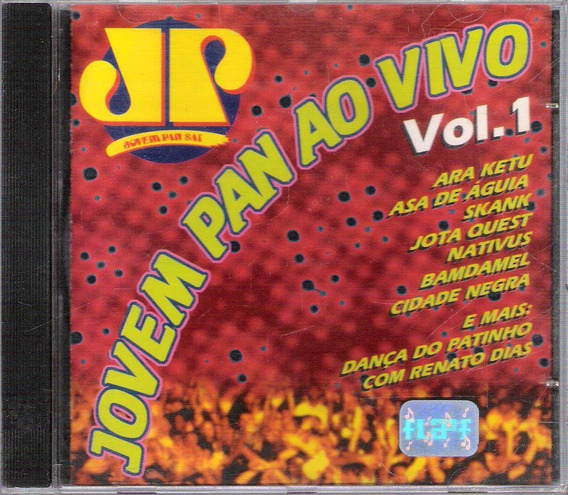 Cd Jovem Pan Ao Vivo Vol1- Renato Dias Asa De Aguia Bamdamel