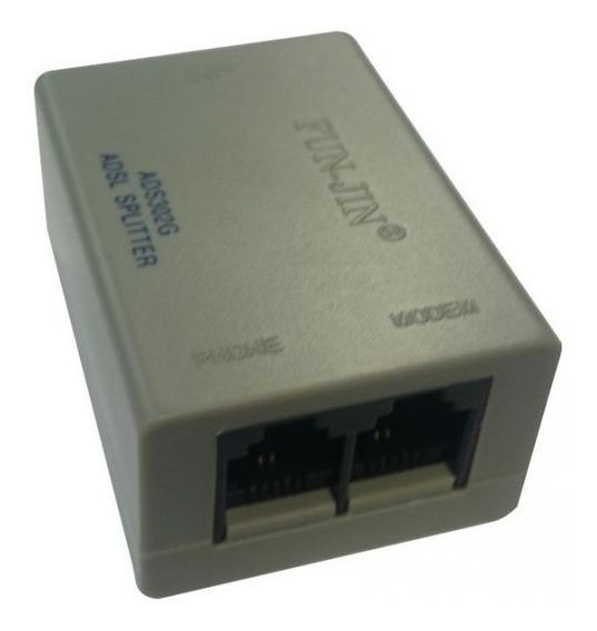 Filtro Adsl Splitter Para Línea Telefónica De Internet