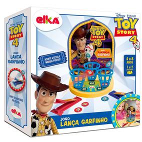 Brinquedo Educativo Elka Jogo Lança Garfinho Toy Story 4