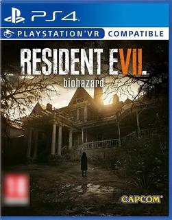Resident Evil 7 Biohazard Ps4 Digital Pkg (leer Descripción)