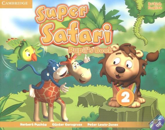 Super Safari British English 2 Pupil´s Book With Dvd-rom -