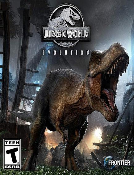 Jurassic World Evolution Pc - Steam Key (envio Rápido)