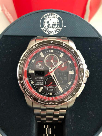 Relógio Citizen Jy8059-57 Red Arrows Ed Limitada