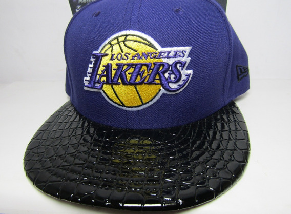 Gorra New Era Lakers Autentica Fitted Cerrada 7 3/8 58.7cm