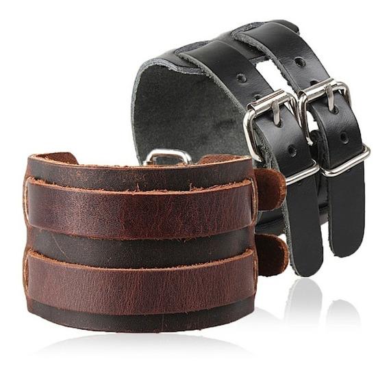 Pulseira Bracelete Couro Jhonny Depp Original Country Cowboy