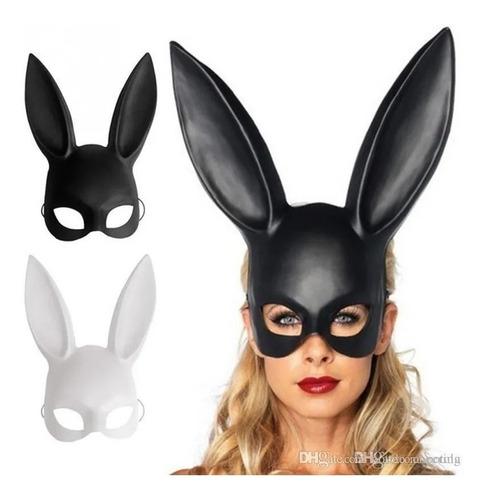 Orejas Coneja Disfraz Mascara Bugs Bunny Playboy Mujer Sexy