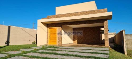 Imagem 1 de 17 de Casa, 168 M² - Venda Por R$ 690.000,00 Ou Aluguel Por R$ 2.800,00/mês - Parque Tauá - Londrina/pr - Ca1712