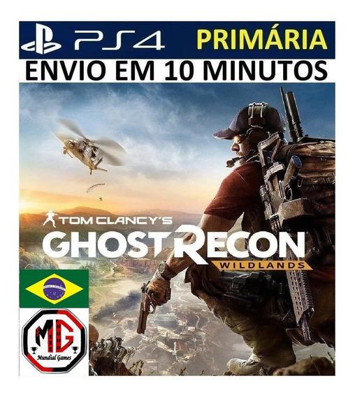 Ghost Recon Wildlands Ps4 - Original 1 Portugues