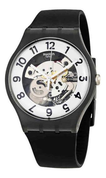 Reloj S Originals Skeletor Black Silicone Suob134