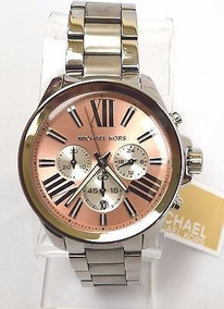 Relógio Michael Kors Original. Prata Dividimos Em Ate 12x