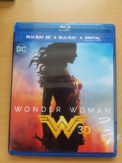Blu Ray Wonder Woman 3d Marvel Dc Original