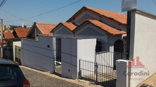 Casa Com 2 Dormitórios À Venda, 160 M² Por R$ 450.000,00 - Vila Rehder - Americana/sp - Ca2734