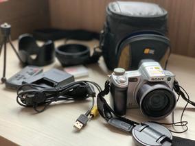 Camera Fotografica Sony Dsc H50 9.1mpx Zoom Optico 15x