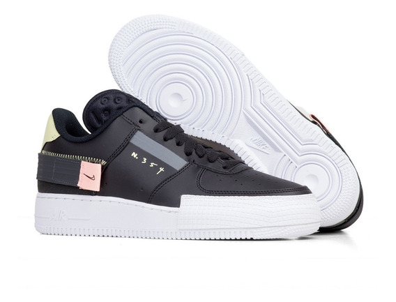 Tênis Nike Air Force 1 drop-type Preto - 44