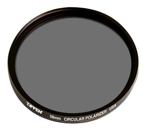 Filtro Polarizador Circular 58mm Tiffen Nikon D3100 D5100