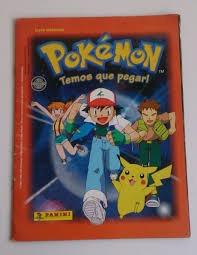 Album Figurinhas Pokemon Temos Que Pegar Editora Panini