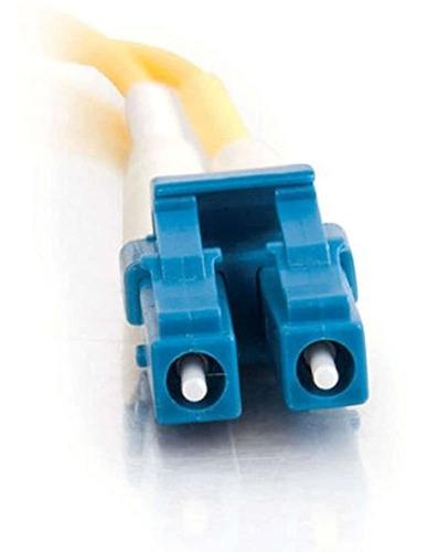 Imagen 1 de 4 de C2g / Cables To Go 37464 Lc-lc 9/125 Os1 Cable De Fibra Opt