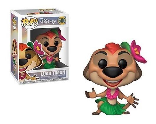 Disney O Rei Leão Boneco Pop Funko Luau Timão #500